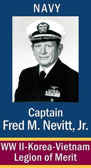 Capt. Fred M. Nevitt, Jr. USN