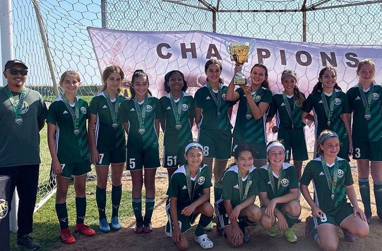 CFC Girls 2008 Team ...