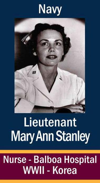 Lt. Mary Ann Stanley, USN
