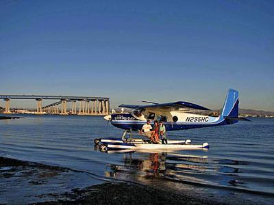 Barnstorming Seaplane Offers Rides From Coronado