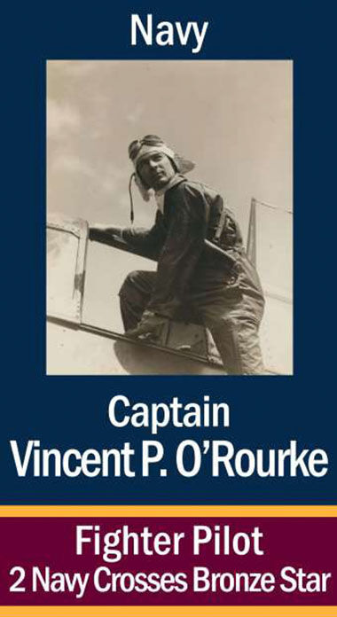 Capt. Vincent Patrick O'Rourke, USN