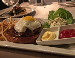 The Burger At Blue Boheme ...