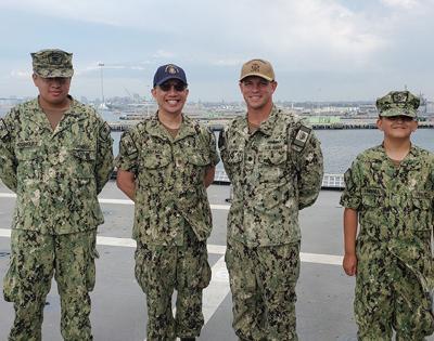 Touring The USS Coronado ...