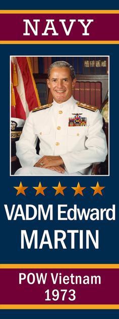 "Coronado's ""Avenue Of Heroes"" ... Admiral Edward H. Martin, USN, Vietnam War POW - Coronado Eagle and Journal"