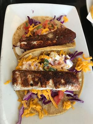 Famous Swordfish Tacos ...