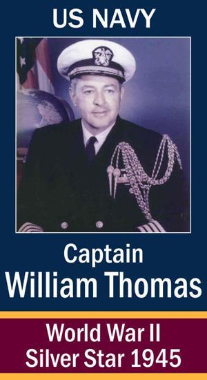 Captain William Bismarck Thomas, USN