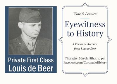 Wine & Lecture: Eyewitness To History