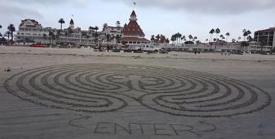 Beach Labyrinth Walk ...
