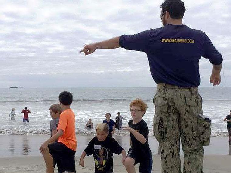 Training With The Seals Coronado