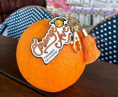 Orange Ave Keychain ...