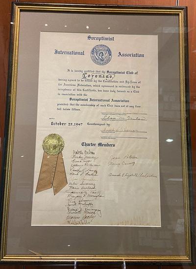 Soroptimist International Of Coronado 75th Anniversary ...
