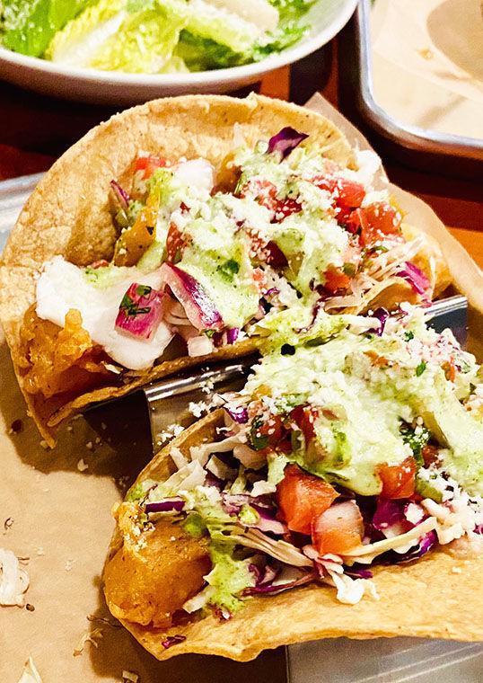 The Crispy Fish Tacos ...