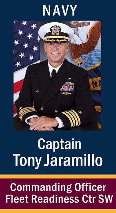 """Capt. Anthony """"Tony"""" Jaramillo, USN"""