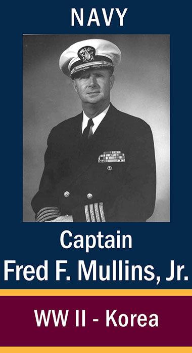 Capt Fred F. Mullins, Jr. (USNR)