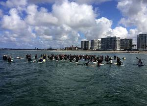 Memorial Paddle Out Held ...