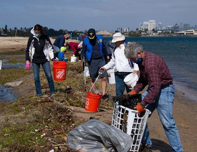 """Cleaning Up """"Delta Beach"""" ..."""