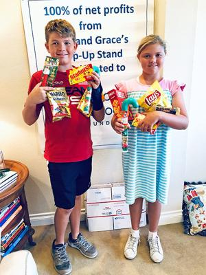 <p>Jack and Grace Elardo, sixth and fifth graders at Coronado Middle School and Village Elementary School respectively, have taken entrepreneurship to a slightly different and higher level. They establish seasonal pop up shops where 100 percent of the net profits go directly to the Coronado Schools Foundation (CSF).</p>