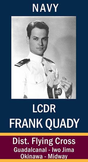 LCDR Frank Bernard Quady, USN
