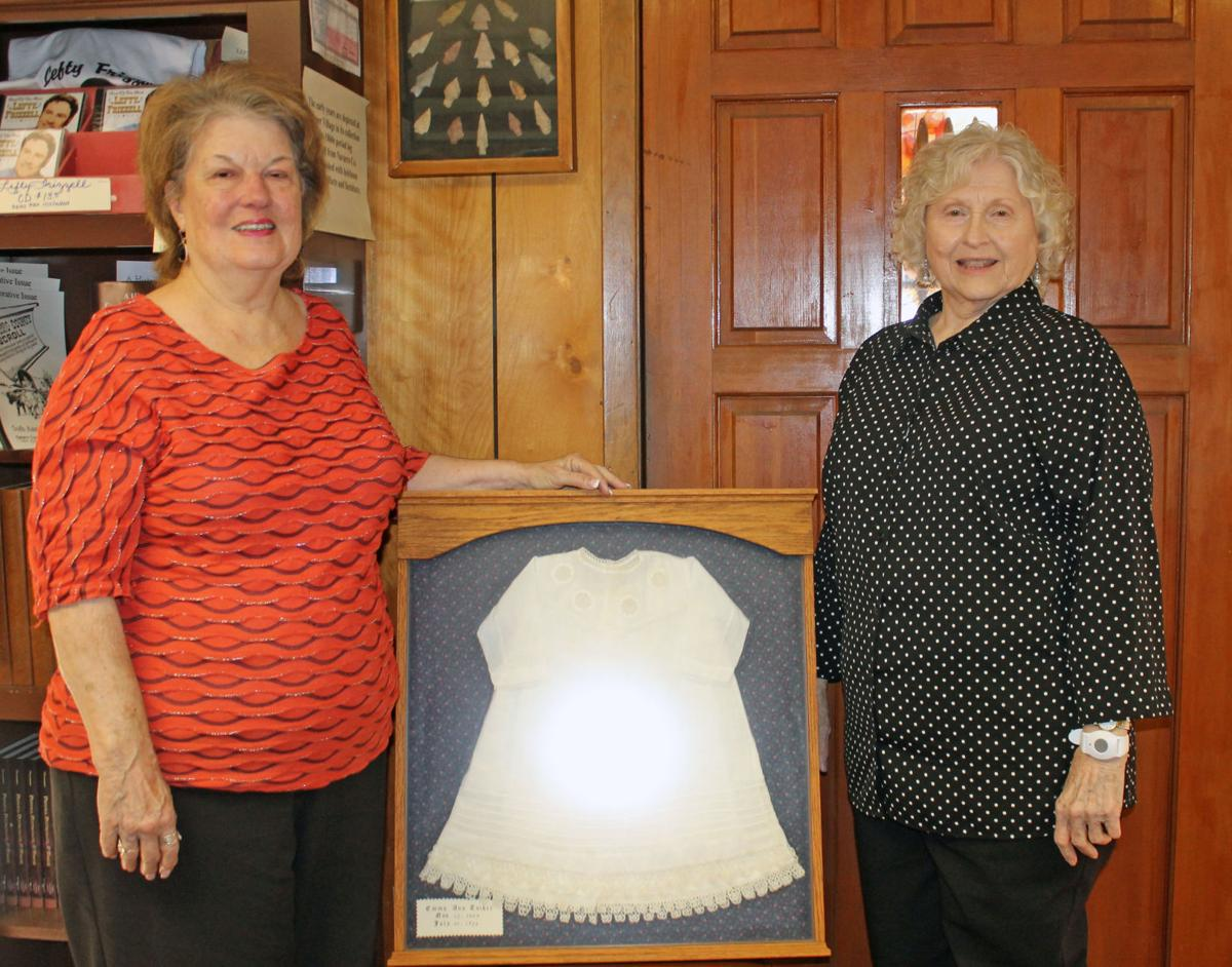 woman donates 1800 u0027s baby dress to pioneer village news
