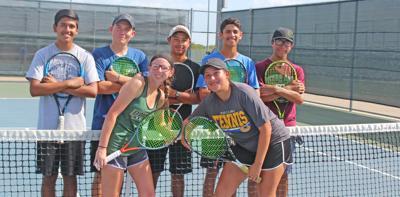 Tiger tennis seniors