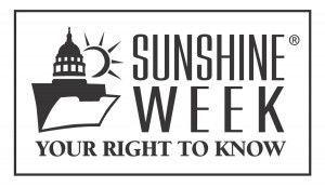 Sunshine Week logo 2019