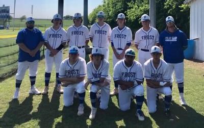 Frost baseball team