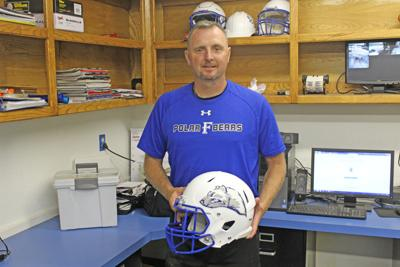 New Frost football Coach Coy Barker