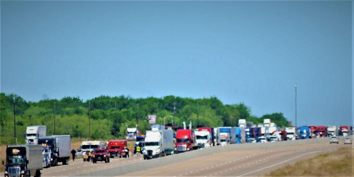 UPDATE: Crash kills woman Friday on I-45