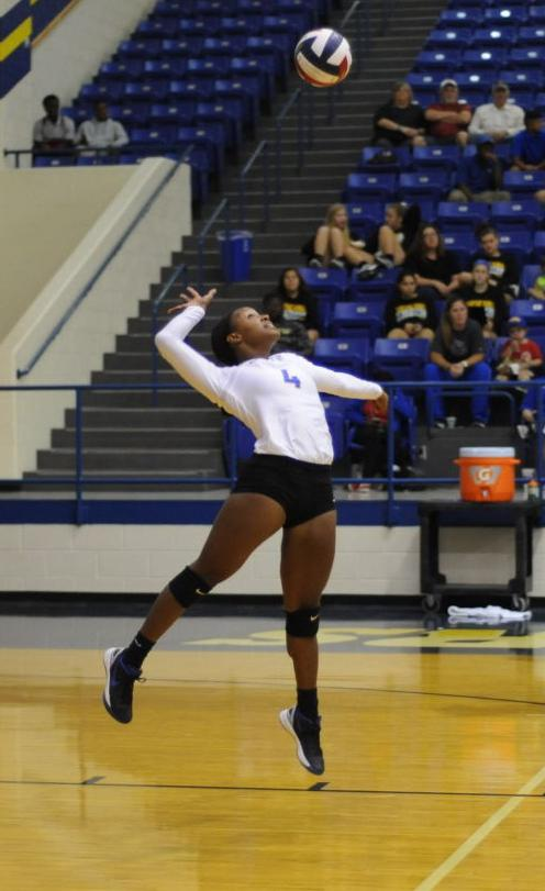 Tiger volleyball team sweeps Nacogdoches