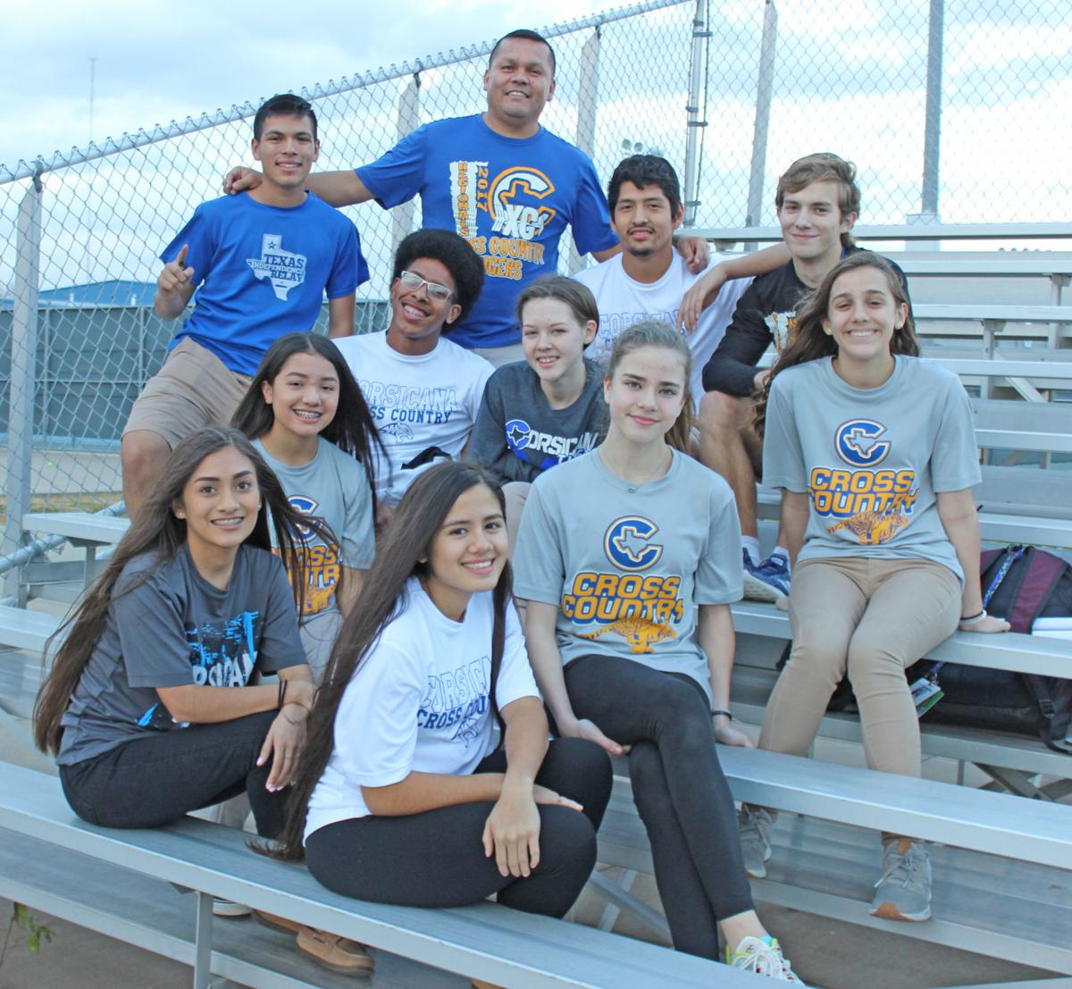 Tigers cross country team