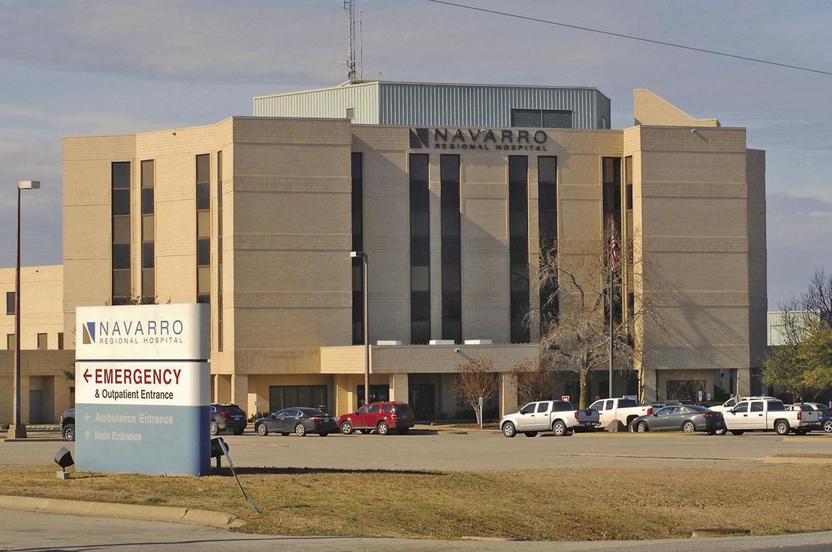 Navarro Regional Hospital in Corsicana