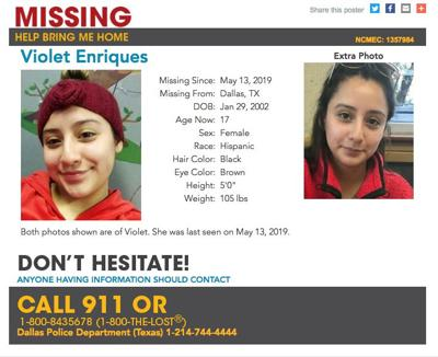 Dallas police search for missing teenager | News