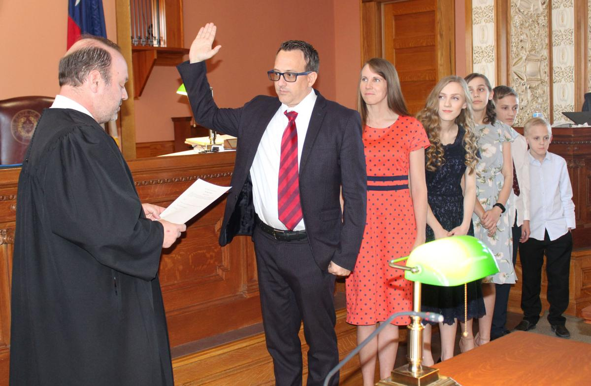 Navarro County's new Criminal District Attorney sworn in