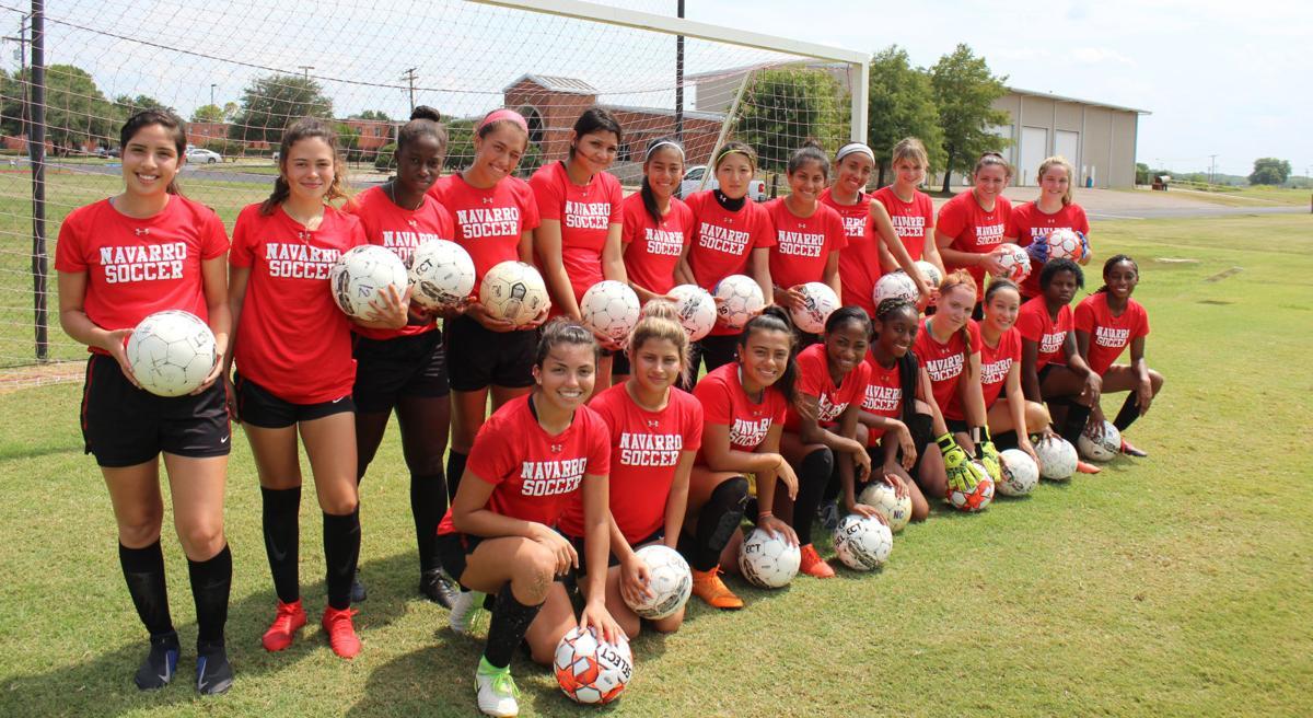 Navarro soccer team