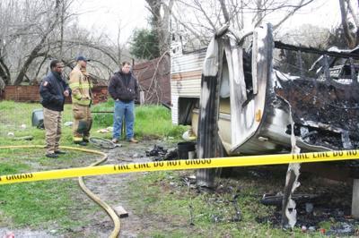 Trailer fire death