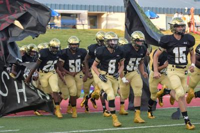 Dawson's Bulldogs take the field