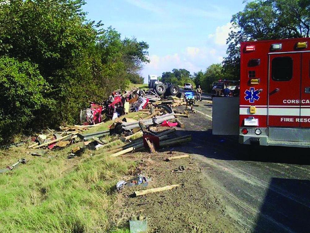 One killed in South 287 crash | News | corsicanadailysun com