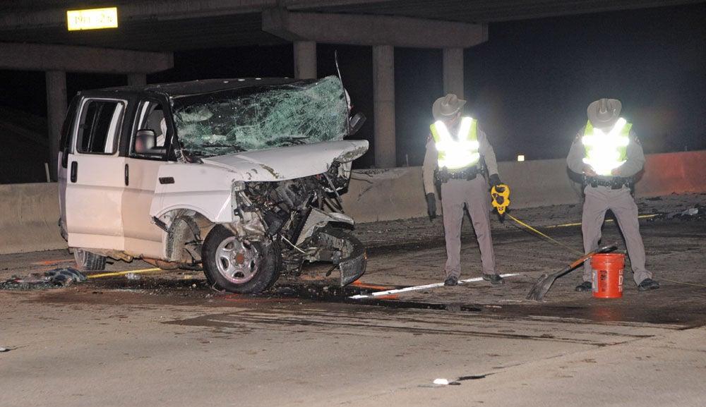 Wrong-way crash kills one, injures two on I-45 | News