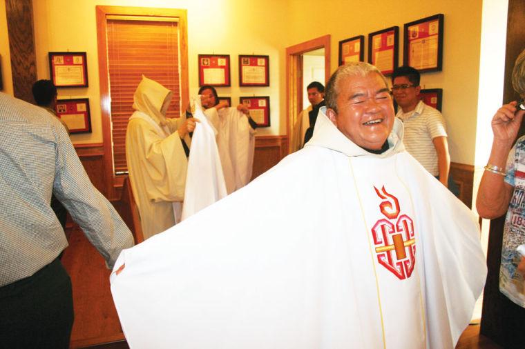 Blessing Celebration Local News Corsicanadailysuncom