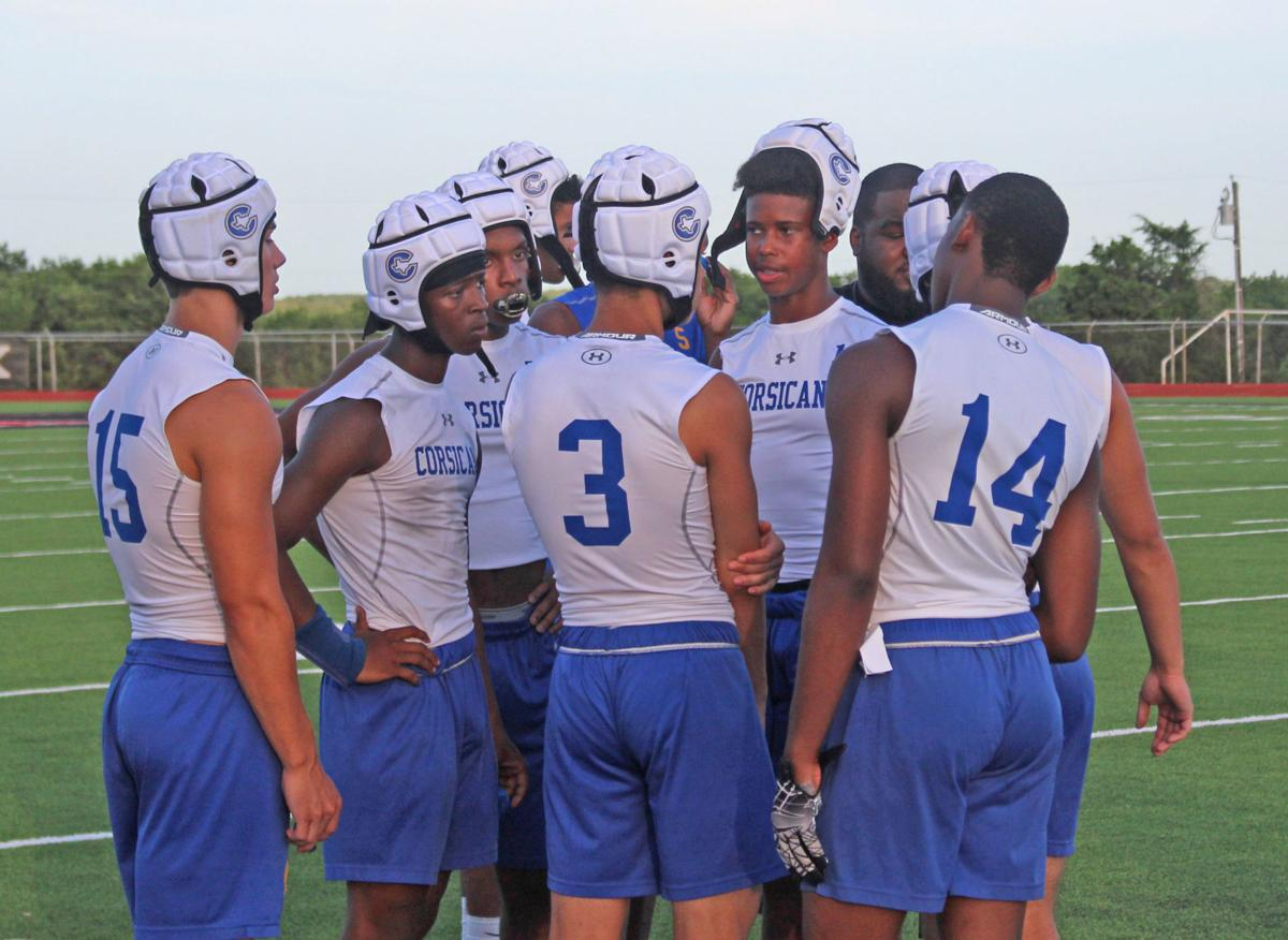 Tigers 7-on-7 football group