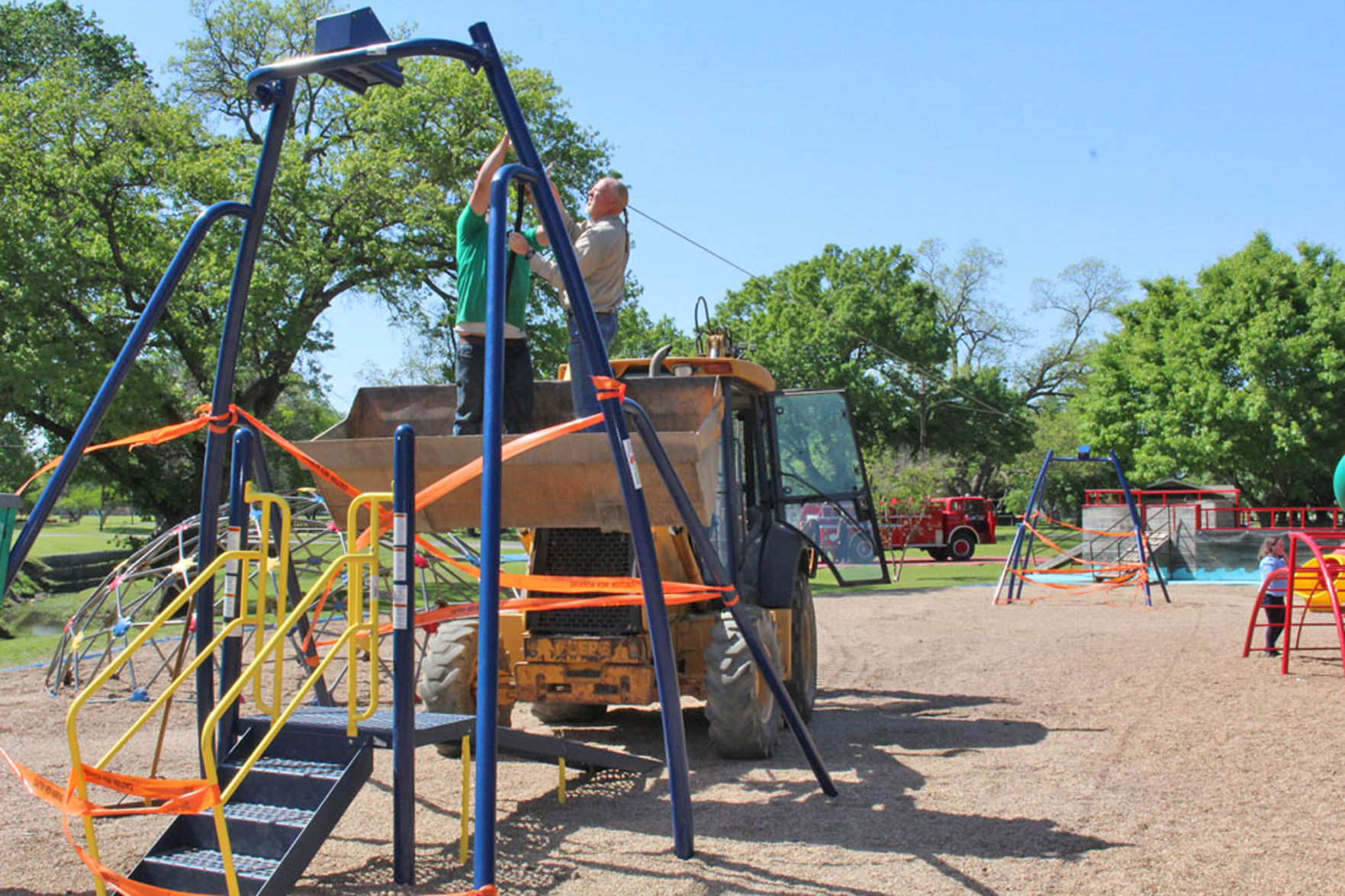 PHOTOS Community Park opens new zipline attraction