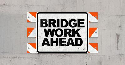 Bridgework ahead