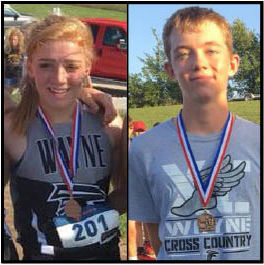 Cross Country runners selected as Co-Athletes of the Week