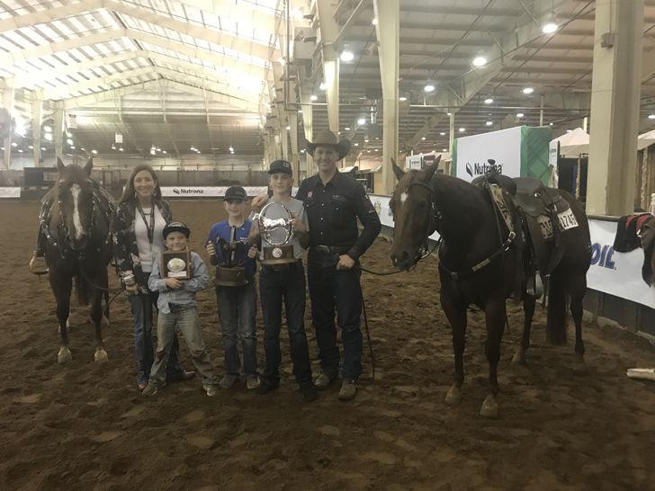 Luke Jones family at AQHA World Championship