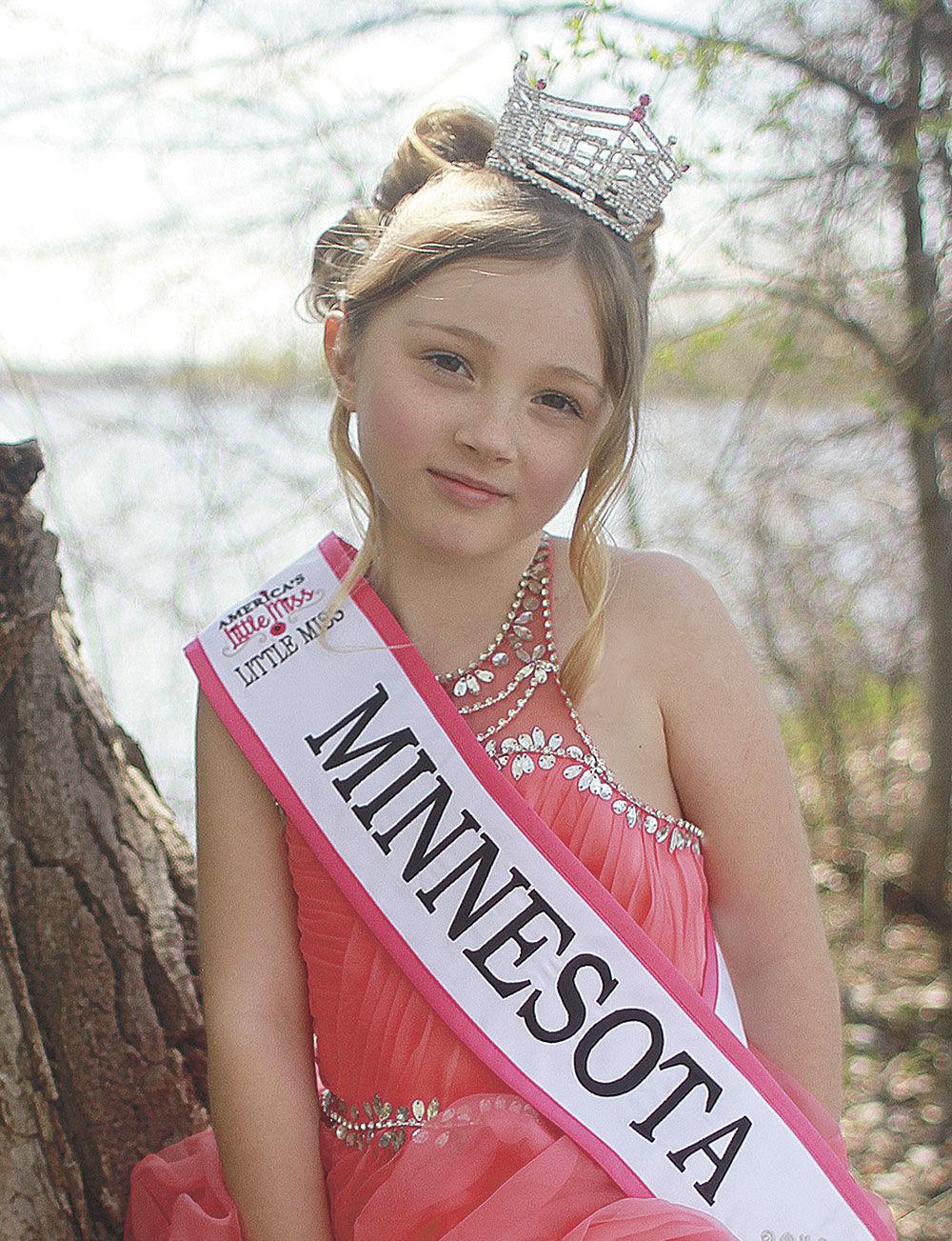 Dreaming big: Little Miss Forest Lake wins Little Miss Minnesota