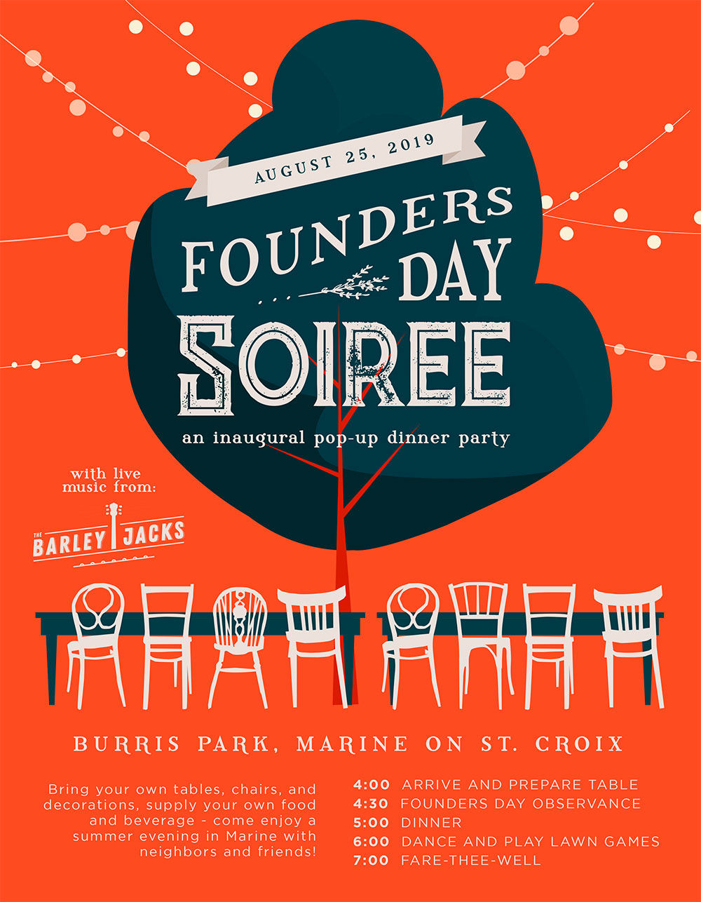 Marine holds inaugural Founder's Day Soirée