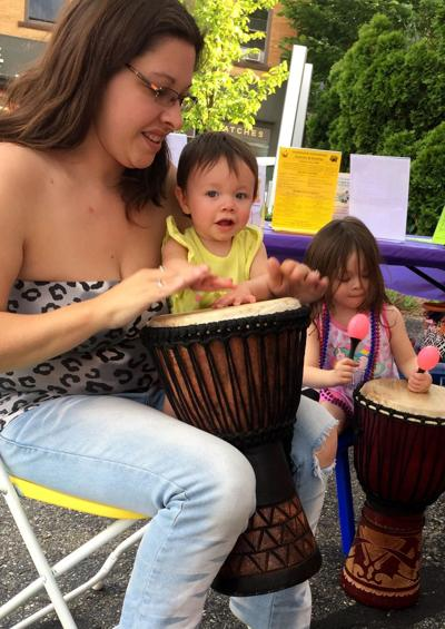 American Mural Project hosts Make Music Day events in Winsted