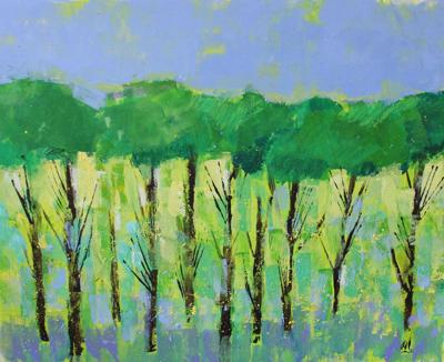 In West Cornwall, Souterrain Gallery to show 'Trees' by Shaun MacDavid