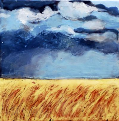Storm Over Field