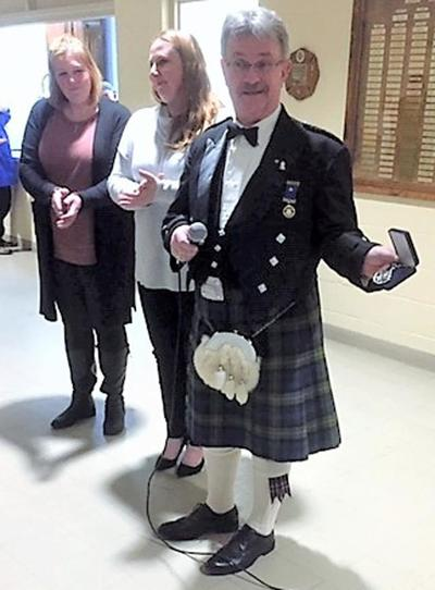 Friendly Hands Food Bank in Torrington benefits from 'Burns Night' event